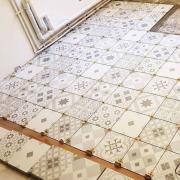 Carrelage aspect carreaux de ciment paris