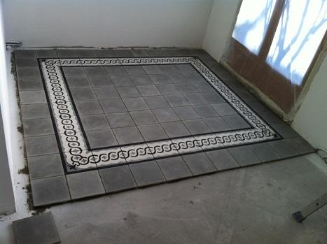 Travaux de carrelage fa ence pose carreaux de ciment - Carreaux ciment paris ...