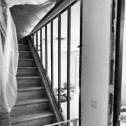 Cloison vitree vitrage atelier verriere lagny le sec work in progress