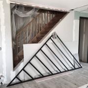 Cloison vitree vitrage atelier verriere triangle lagny le sec work in progress