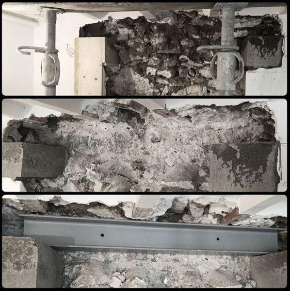 Creation d une fenetre ouverture dans un mur porteur paris