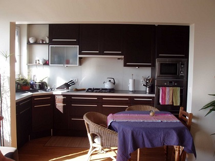 Cuisine sur mesure a partir de meubles standards