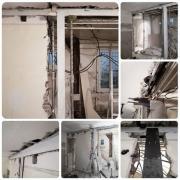 Demolition d un mur porteur a boulogne billancourt 92