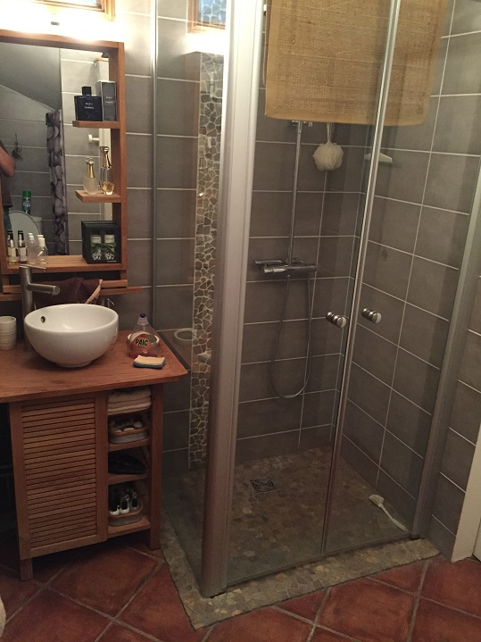 Douche italienne a jouars ponchartrain