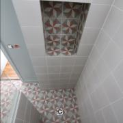 Douche italienne carreaux de ciment paris