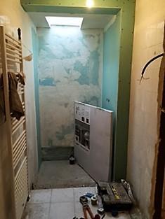 Réfection de la salle de bains en cours (Oise 60)