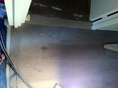 Barre de seuil suisse sur parquet, Charenton 94