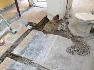 Préparation plomberie SDB, Oise 60
