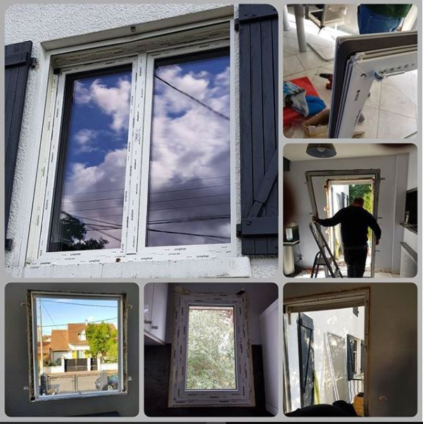 Installation fenetres tremblay en france 93 depose totale