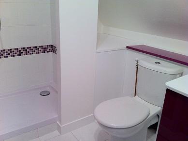 Nouvelle sde avec des toilettes