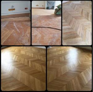 Renovation parquet paris 16